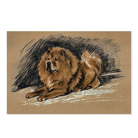 Vintage Chow Chow Postcards (Package of 8)