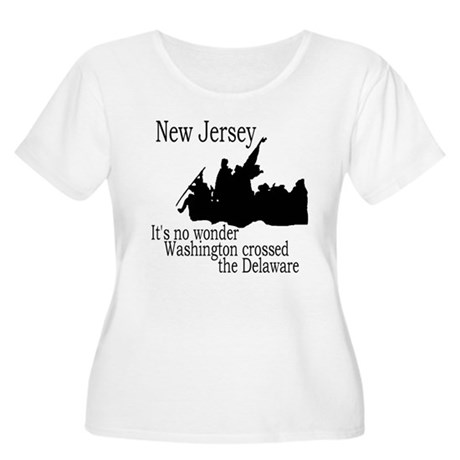 New Jersey Pride Women's Plus Size T-Shirt