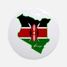 Cool Kenya Ornament (Round)
