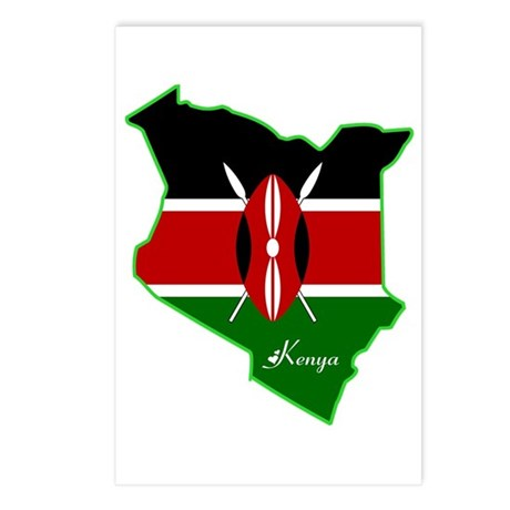 Cool Kenya Postcards (Package of 8)