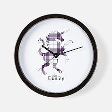 Unicorn - Dunlop dress Wall Clock