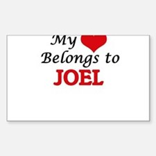 My heart belongs to Joel Decal