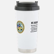 Cool Infantry wife Travel Mug