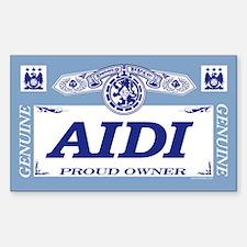 AIDI Rectangle Decal