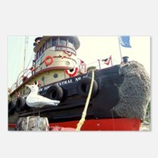 Cute Tugboats Postcards (Package of 8)