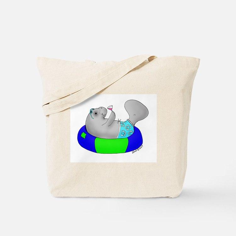 Manatee Tote Bag