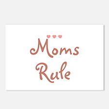 Moms Rule Postcards (Package of 8)