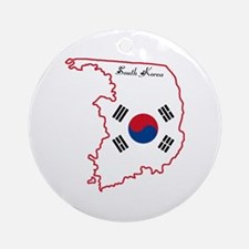 Cool South Korea Ornament (Round)