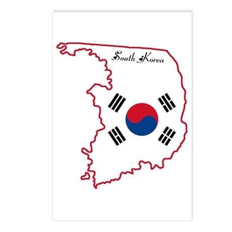 Cool South Korea Postcards (Package of 8)