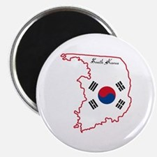 "Cool South Korea 2.25"" Magnet (10 pack)"