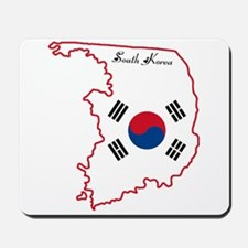 Cool South Korea Mousepad