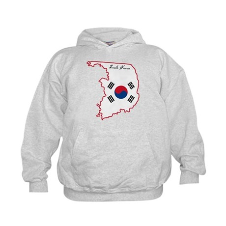 Cool South Korea Kids Hoodie