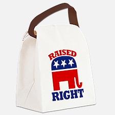 Cute Gop elephant Canvas Lunch Bag