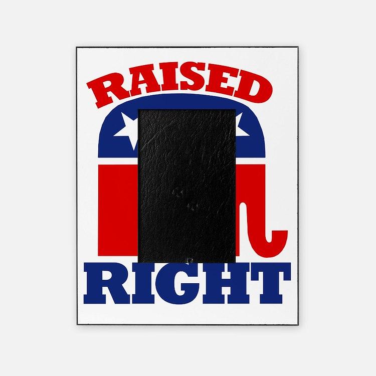 Cute Republican elephant Picture Frame