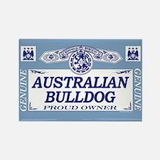 AUSTRALIAN BULLDOG Rectangle Magnet
