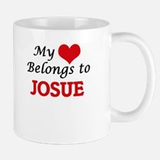My heart belongs to Josue Mugs