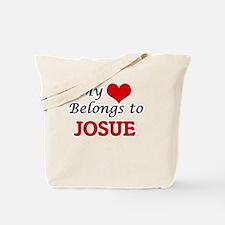 My heart belongs to Josue Tote Bag