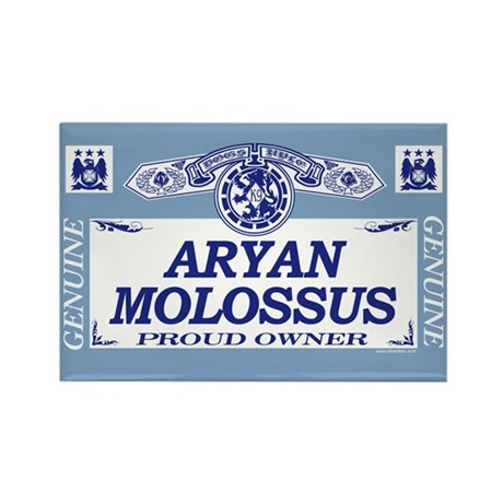 ARYAN MOLOSSUS Rectangle Magnet (100 pack)