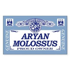 ARYAN MOLOSSUS Rectangle Decal