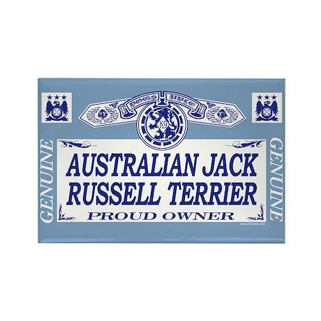 AUSTRALIAN JACK RUSSELL TERRIER Rectangle Magnet