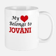 My heart belongs to Jovani Mugs