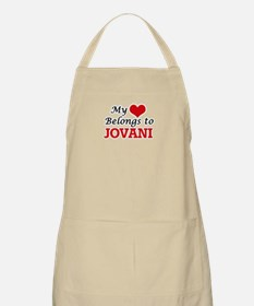 My heart belongs to Jovani Apron