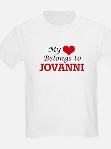 My heart belongs to Jovanni T-Shirt