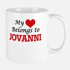 My heart belongs to Jovanni Mugs