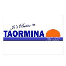 Its Better in Taormina Postcards (Package of 8)