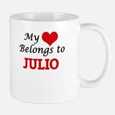 My heart belongs to Julio Mugs
