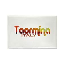 Taormina, Italy Rectangle Magnet (10 pack)