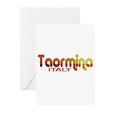 Taormina, Italy Greeting Cards (Pk of 10)