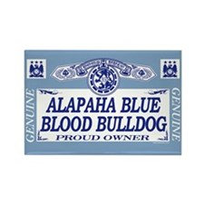 ALAPAHA BLUE BLOOD BULLDOG Rectangle Magnet