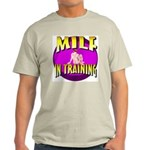 Milf In Training Ash Grey T-Shirt