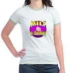 Milf In Training Jr. Ringer T-Shirt