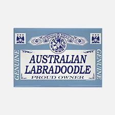 AUSTRALIAN LABRADOODLE Rectangle Magnet