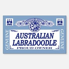 AUSTRALIAN LABRADOODLE Rectangle Decal