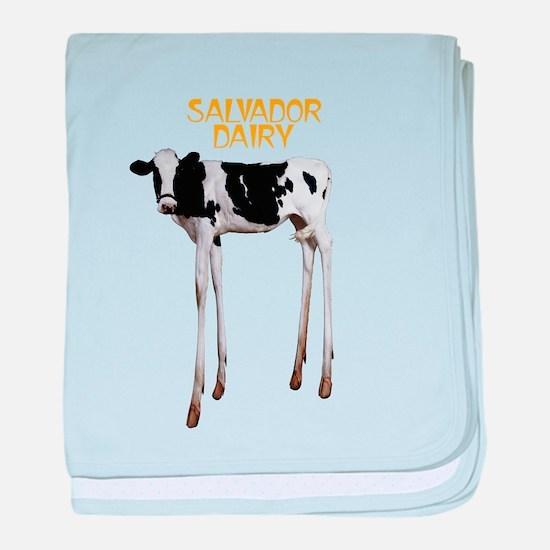 Salvador Dairy baby blanket