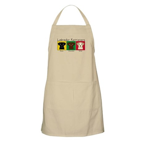 Three Labradors BBQ Apron