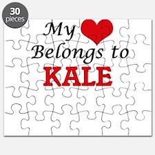 My heart belongs to Kale Puzzle
