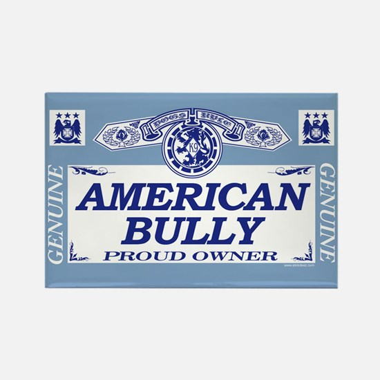 AMERICAN BULLY Rectangle Magnet