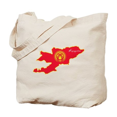 Cool Kyrgyzstan Tote Bag