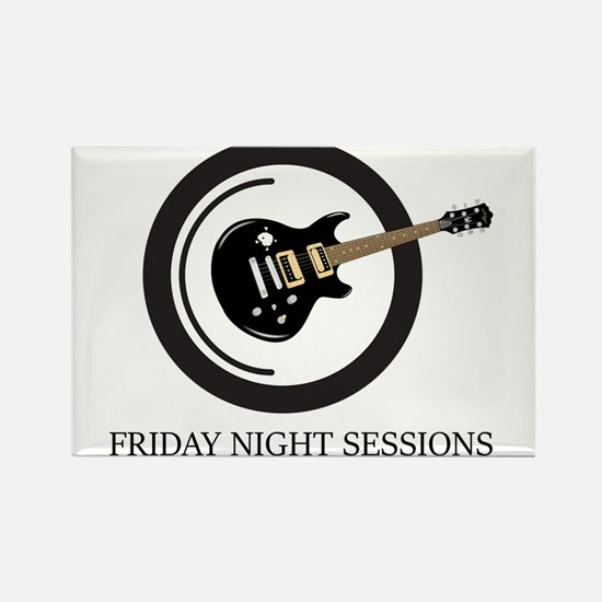 Friday Night Sessions Logo Magnets