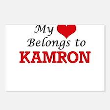 My heart belongs to Kamro Postcards (Package of 8)