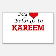 My heart belongs to Kareem Decal