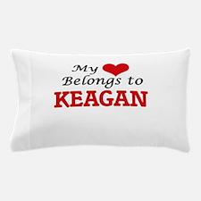 My heart belongs to Keagan Pillow Case