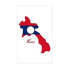 Cool Laos Rectangle Decal