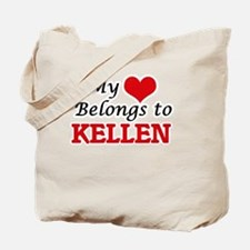 My heart belongs to Kellen Tote Bag