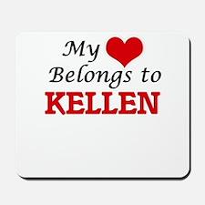 My heart belongs to Kellen Mousepad