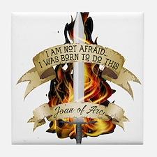 Joan of Arc - Born 2016 Tile Coaster